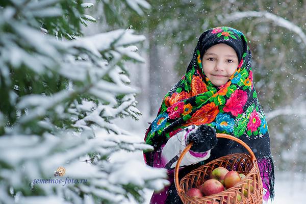 Маленькая русская красавица - Полина