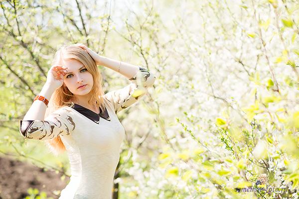 Анастасия и белоснежные вишни