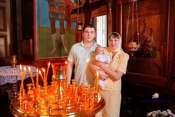 Таинство Крещения Вероники Алексеевны