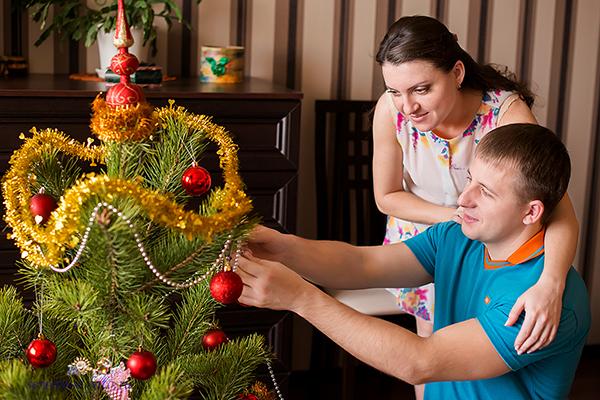 Лена и Андрей в ожидании своего сынишки