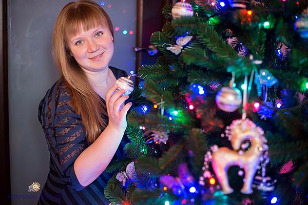 Новый год у Виктории, Алексея и Вероники