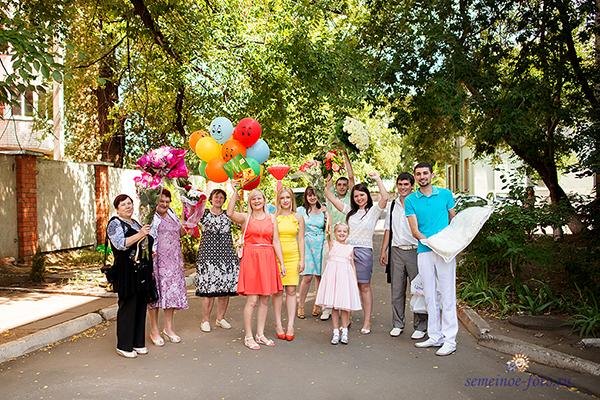 Выписка Семёна из роддома №2 г. Воронеж