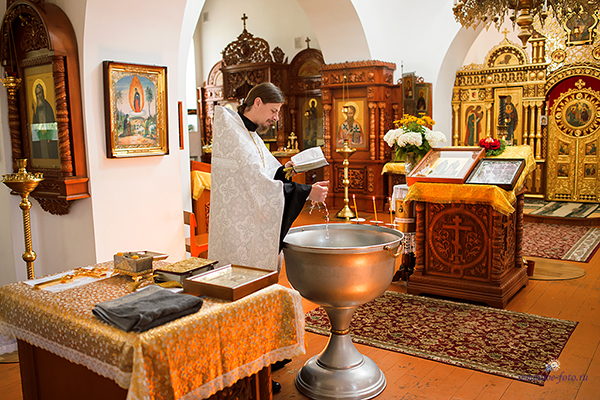 Таинство Крещения Прохора