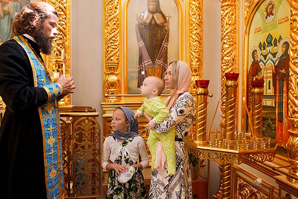 Таинство Крещения Кирилла