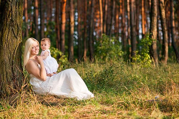 Кристина, Дмитрий и малышка Василиса