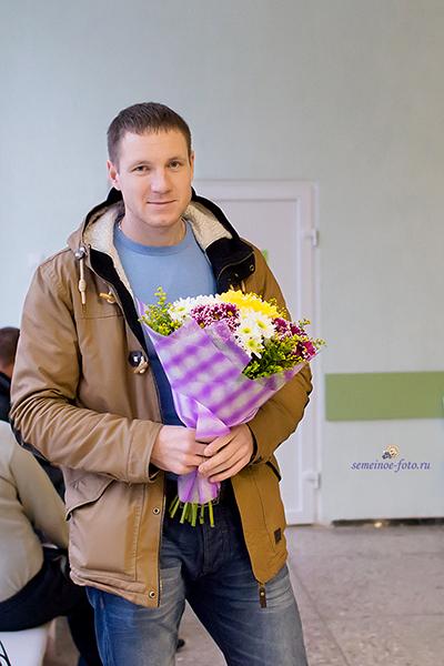 Выписка Богдана (областной клинической родильный дом)