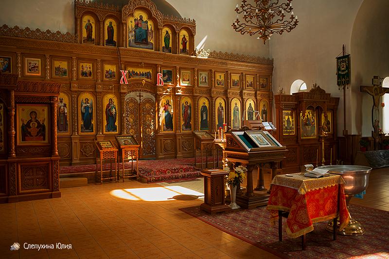 Таинство Крещения Артура в храме Сергия Радонежского (Воронеж)