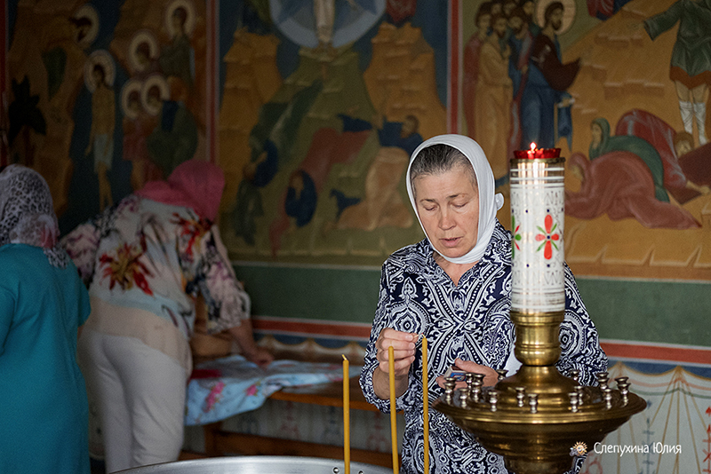 Таинство Крещения Екатерины. Покровский храм, г. Воронеж
