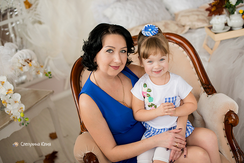 Юля и Сонечка
