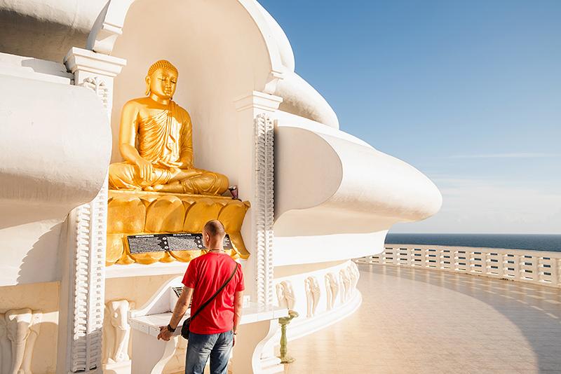 Шри-Ланка, июнь 2017. Японская пагода мира