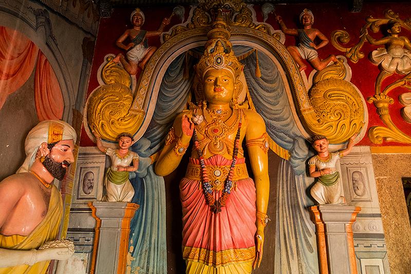 Шри-Ланка, июнь 2017. Храм Ятагала