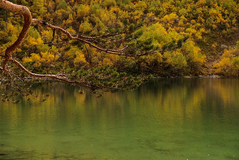 Осенний Домбай, октябрь 2017